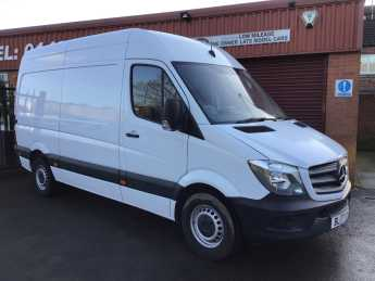 Mercedes-benz Sprinter SPRINTER 2.1 314CDI MED WHEEL BASE HIGH ROOF 140 PS Panel Van Diesel White at Key Kars Doncaster