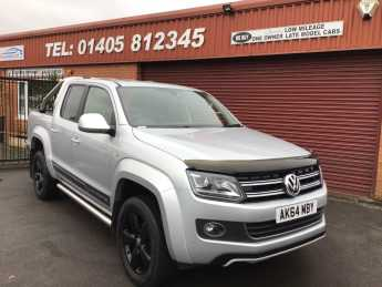 Volkswagen Amarok D/Cab Pick Up Ultimate 2.0 BiTDI 180 BMT 4MTN Auto PLUS VAT Pick Up Diesel Silver at Key Kars Doncaster