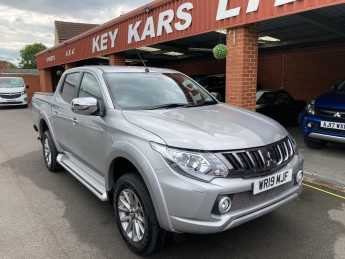 Mitsubishi L200 2.4 Double Cab DI-D 178 Barbarian 4WD Automatic. Plus Vat Pick Up Diesel Silver at Key Kars Doncaster