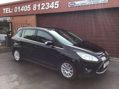 Ford Grand C-MAX 2.0 TDCi Titanium 5dr 7 SEATS MPV Diesel Black at Key Kars Doncaster
