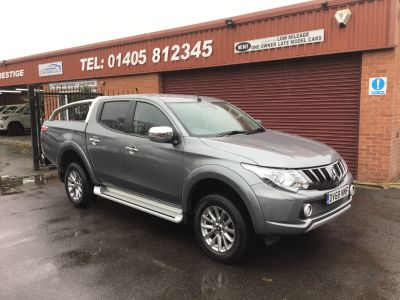 Mitsubishi L200 2.4 Double Cab DI-D 178 Barbarian 4WD Auto PLUS VAT Pick Up Diesel Grey at Key Kars Doncaster