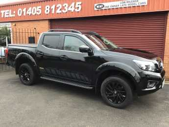 Nissan Navara Double Cab Pick Up N-Guard 2.3dCi 190 4WD Auto ELECTRIC SUNROOF / SPECIAL EDITION PLUS VAT Pick Up Diesel Black at Key Kars Doncaster