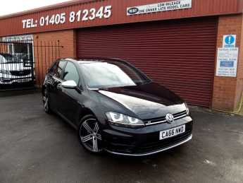 Volkswagen Golf 2.0 TSI R 5dr DSG 4motion SAT NAV / ADAPTIVE CRUISE / ONLY 5000 MILES Hatchback Petrol Black at Key Kars Doncaster