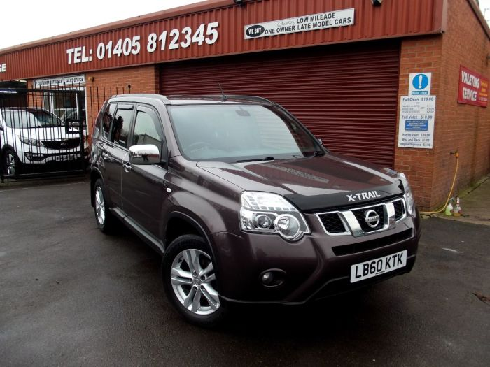 Nissan X Trail 2.0 dCi 173 Acenta 5dr 4X4 Estate Diesel Grey