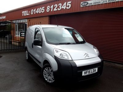 Citroen Nemo 1.3 HDi Enterprise [non Start/Stop] OWNED BY CITROEN FROM NEW Panel Van Diesel Silver at Key Kars Doncaster