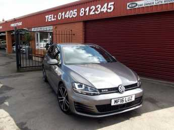 Volkswagen Golf 2.0 TDI GTD 5dr MANUAL / ONE OWNER / FVWSH Hatchback Diesel Grey at Key Kars Doncaster