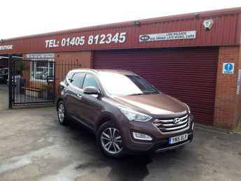 Hyundai Santa Fe 2.2 CRDi Premium 5dr MANUAL SAT/NAV ,REAR CAMERA Estate Diesel Brown at Key Kars Doncaster