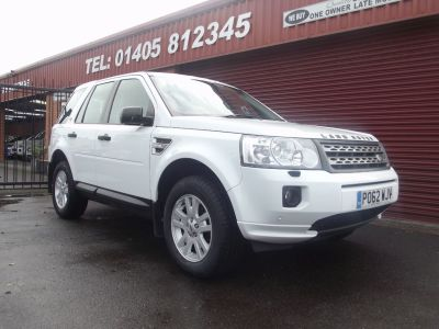 Land Rover Freelander 2.2 TD4 XS 5dr Estate Diesel White at Key Kars Doncaster