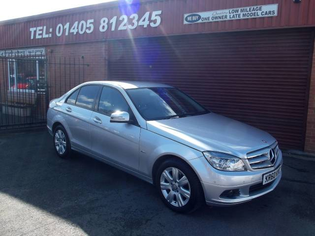 Mercedes-Benz C Class 2.1 C220 CDI BlueEFFICIENCY Executive SE 4dr Auto Saloon Diesel Silver