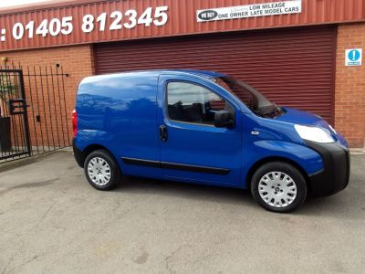 Citroen Nemo 1.3 HDi Enterprise [non Start/Stop] REAR WINDOWS / AIR CONDITIONING /ONE OWNER Panel Van Diesel Blue at Key Kars Doncaster