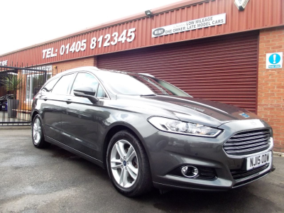 Ford Mondeo 2.0 TDCi Titanium 5dr Powershift ONE OWNER / FULL FORD SERVICE HISTORY Estate Diesel Grey at Key Kars Doncaster