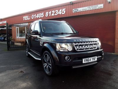Land Rover Discovery 3.0 SDV6 HSE Luxury 5dr Auto 7 SEATS / TOP SPEC /ONE OWNER / FULL SERVICE HISTORY/ TV'S ALL ROUND Estate Diesel Grey at Key Kars Doncaster