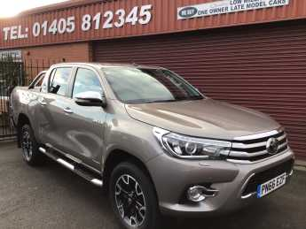 Toyota Hilux Invincible X D/Cab Pick Up 2.4 D-4D HEATED BLACK LEATHER SEATS/LOCK N LOAD COVER / PLUS VAT Pick Up Diesel Bronze at Key Kars Doncaster