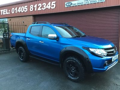 Mitsubishi L200 2.4 Double Cab DI-D 178 Barbarian SVP 4WD ( Special Vehicle Projects number 125 ) XX NO VAT XX Pick Up Diesel Blue at Key Kars Doncaster